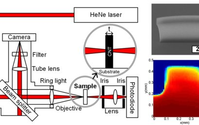 Measurement of Carbon Nanotube Microstructure Density by Optical Attenuation and Observation of Size-Dependent Density Variations