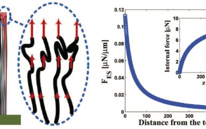 Strain Relaxation and Resonance of Carbon Nanotube Forests under Electrostatic Loading
