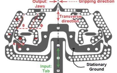 Compliant Microgripper with Parallel Straight-line Jaw Trajectory for Nanostructure Manipulation