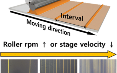High-Speed Production of Crystalline Semiconducting Polymer Line Arrays by Meniscus Oscillation Self-Assembly