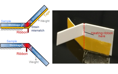 Current-Dependent Dynamics of Bidirectional Self-Folding for Multi-Layer Polymers Using Local Resistive Heating